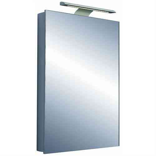 Saneux Ice 500 1 door mirror cabinet