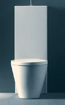 Starck1 close-coupled toilet