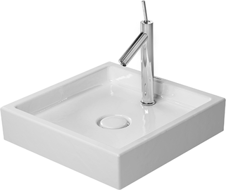 Starck1 Furniture washbasin square