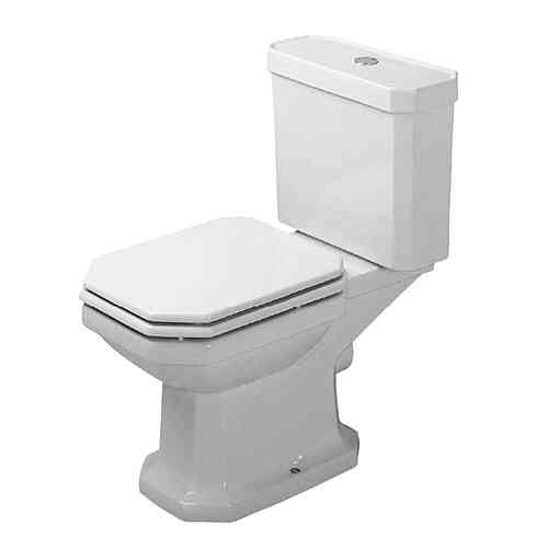 1930 - toilet close-coupled with soft closing seat