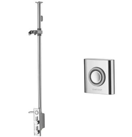 HiQu Exposed shower with remote control Combi 1003
