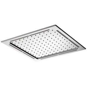 Options Square flush fit LED metal head