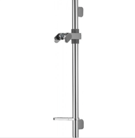 Options shower rail system with adjustable fixings 900mm