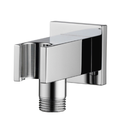 Options squar wall outlet and handshower holder